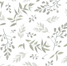 Load image into Gallery viewer, Forest Leaves Sage | Removable PhotoTex Wallpaper