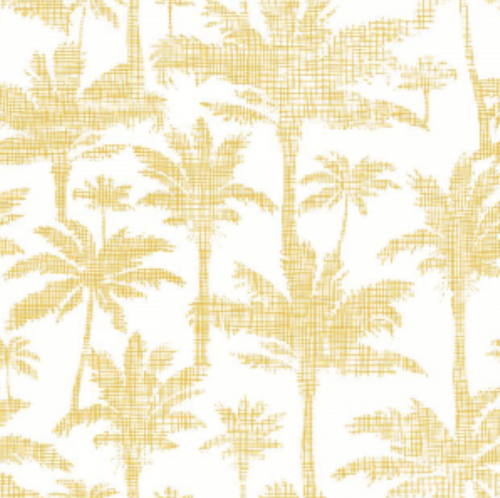 Palms Golden | Removable PhotoTex Wallpaper