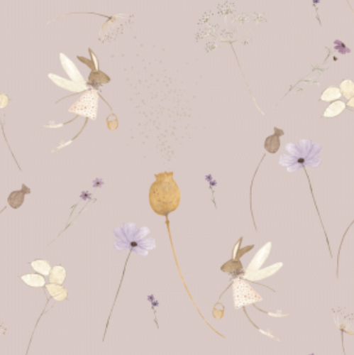 Seeds & Po Blush | Removable PhotoTex Wallpaper