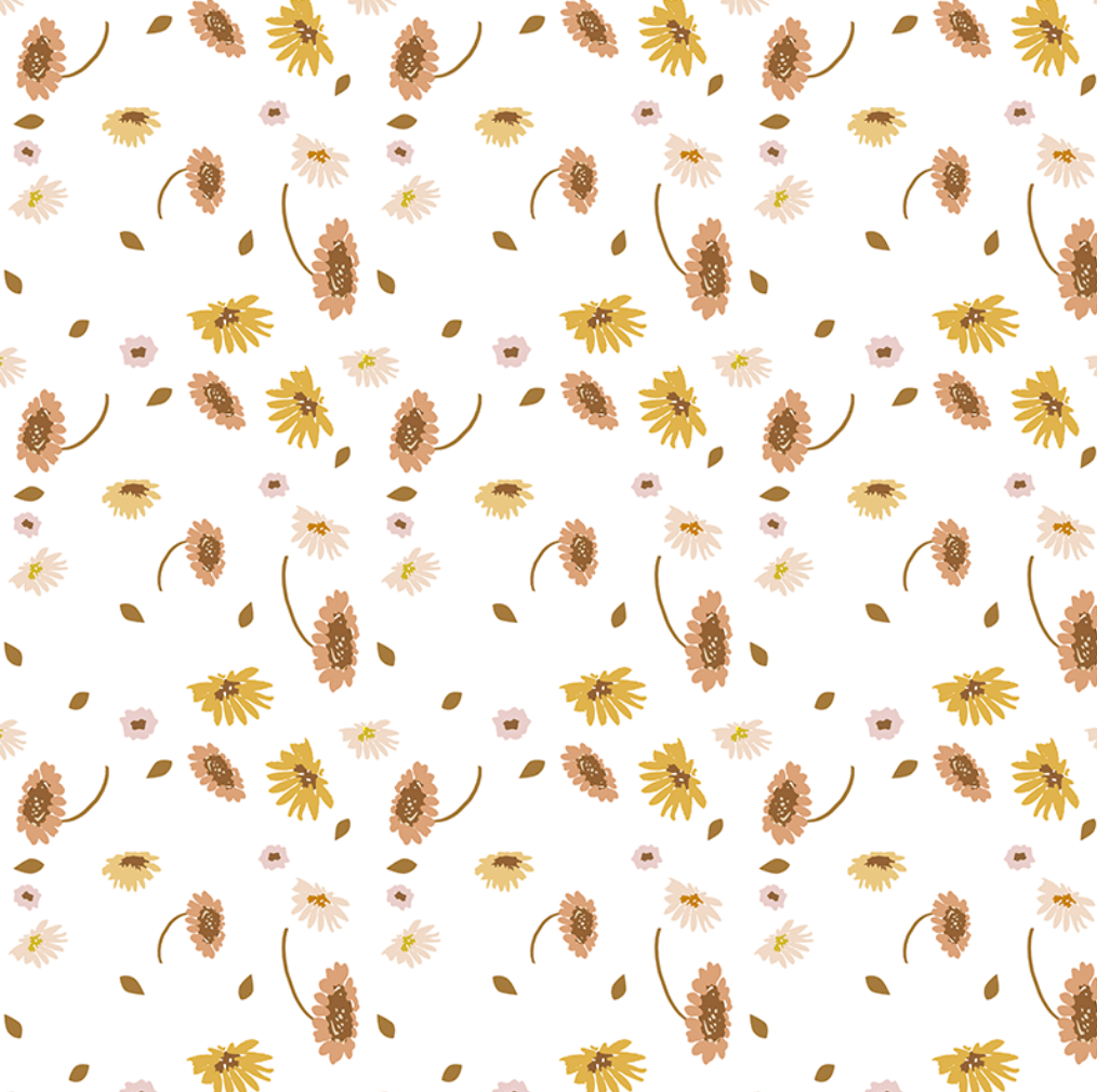 The Little Wildflower | Removable PhotoTex Wallpaper