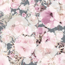 Load image into Gallery viewer, Vintage Floral Grey