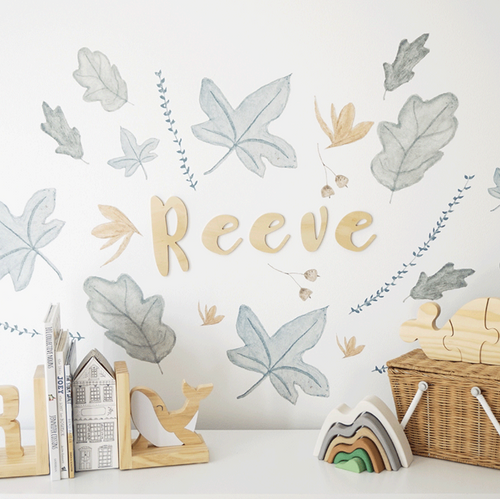 Feuilles/ leaves (Mini) Decals