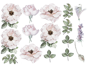 Peony Garden Decals (Full Set)
