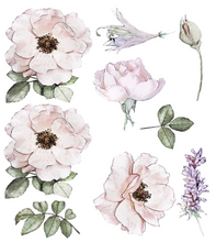 Load image into Gallery viewer, Peony Garden Decals (Half Set)