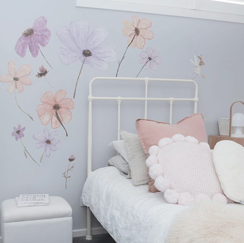 Wildflower Decals | Removable PhotoTex Wall Decals