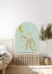 Mr Eight Arch Decal - Minty Petite