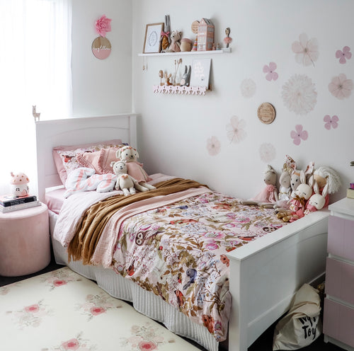 Sea of Flowers (Mini) Decals | Removable PhotoTex Wall Decals