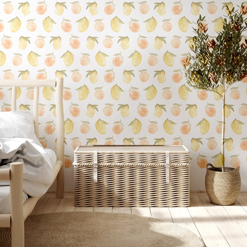 Peach and Lemon Decals