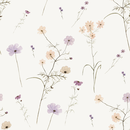 Wildflower Garden 0809 | Removable PhotoTex Wallpaper