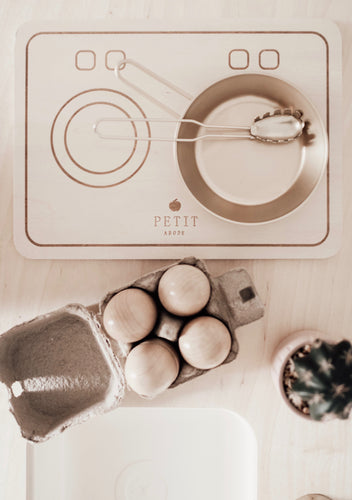 The Electric Wooden Cooktop