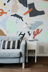 Here and Now | Removable PhotoTex Wallpaper