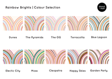 Load image into Gallery viewer, Rainbow Brights (several colourways)