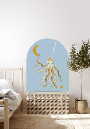 Mr Eight Arch Decal - Sea Blue Petite