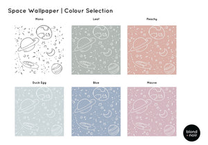 Mono Space (several colourways) | Removable PhotoTex Wallpaper