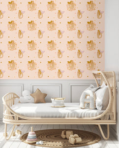 Spring Mermaid The Wallpaper - Peachy Keen | Removable PhotoTex Wallpaper