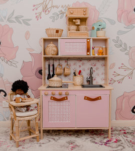 Faux Rattan Blush for Hacks and Dollhouses
