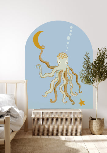 Mr Eight Arch Decal - Sea Blue Grande
