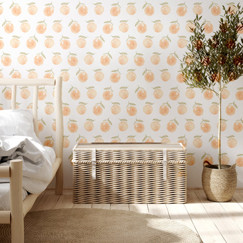 Sweet as Peach The Wallpaper | Removable PhotoTex Wallpaper