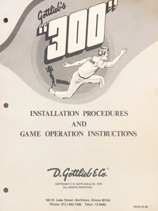 300 Complete Pinball Manual