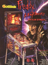Load image into Gallery viewer, Gottlieb's Freddy A Nightmare On Elm Street Signed