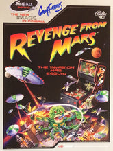 Load image into Gallery viewer, Bally Revenge From Mars Signed