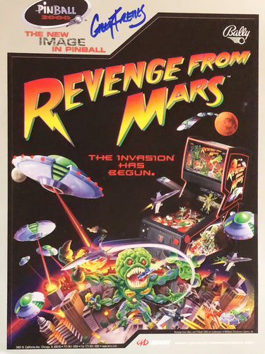 Bally Revenge From Mars Signed