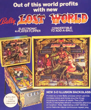 Load image into Gallery viewer, Bally Lost World