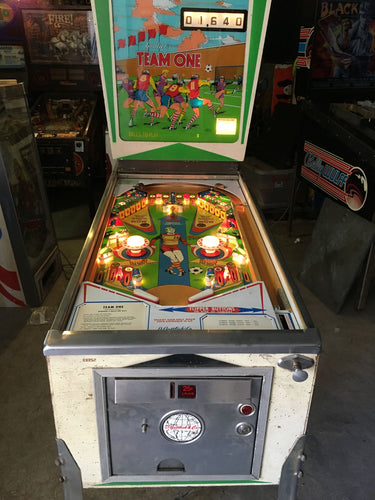 Team One Pinball Machine