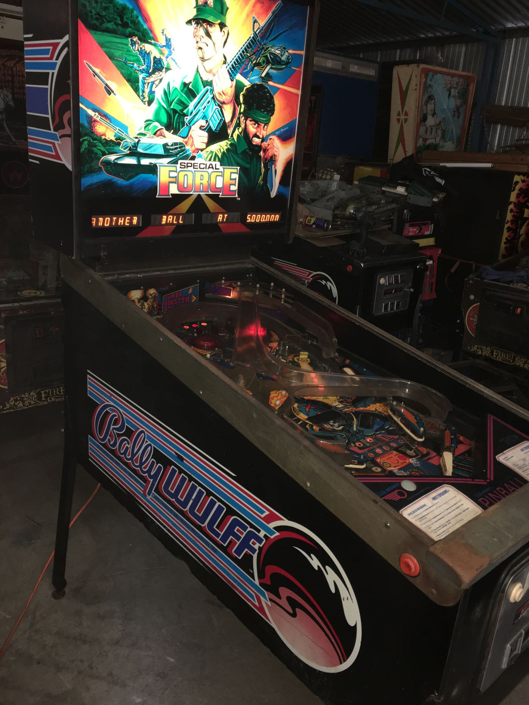 Motordome Pinball Machine