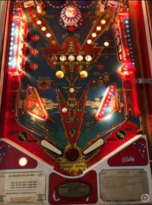 Captain Fantastic Pinball Machine