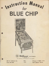 Load image into Gallery viewer, Blue Chip Complete Pinball Manual