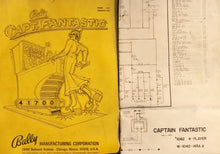 Load image into Gallery viewer, Captain Fanstastic Complete Pinball Manual