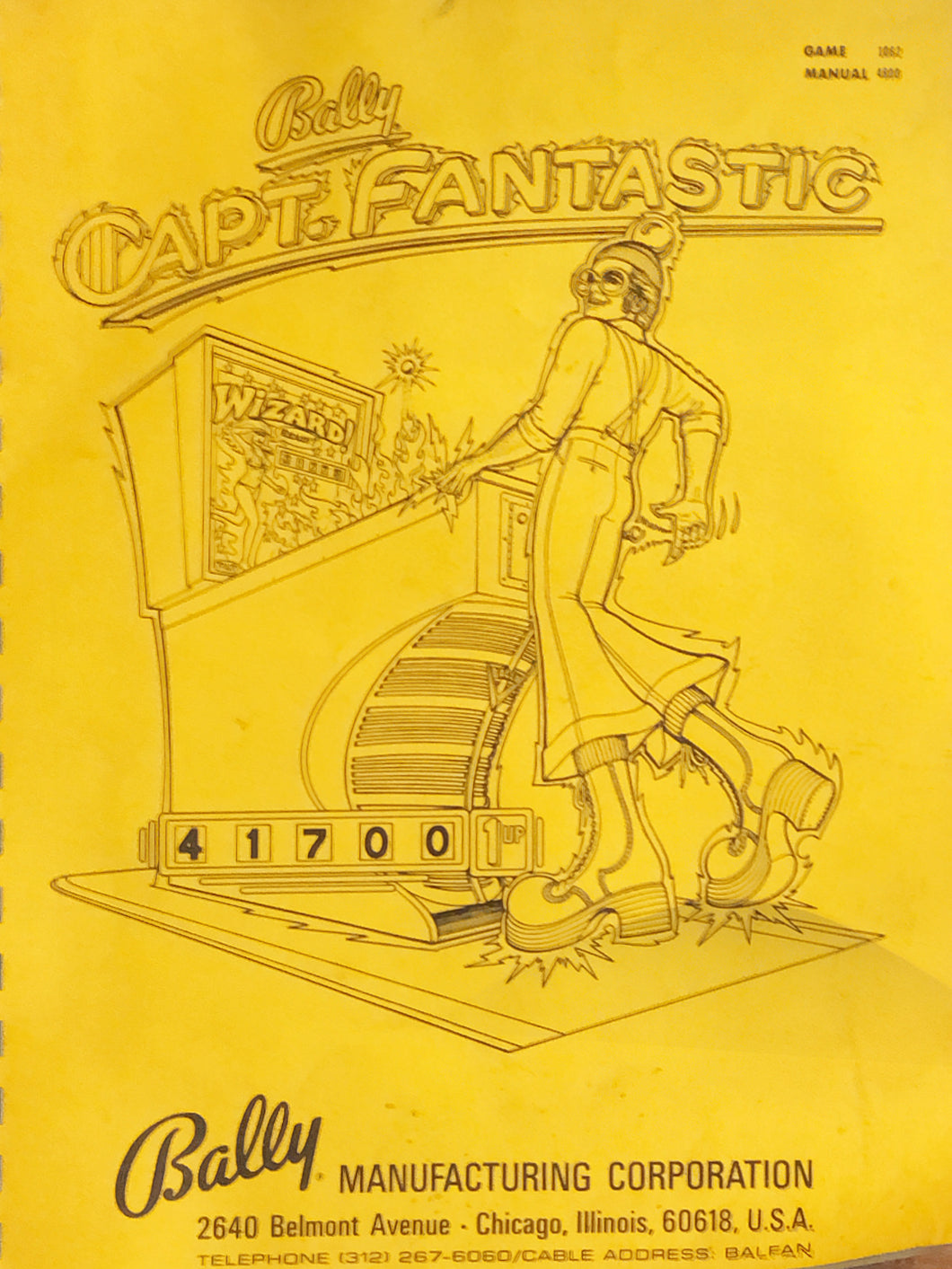 Captain Fanstastic Complete Pinball Manual