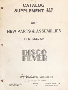 Disco Fever Pinball Schematic Only