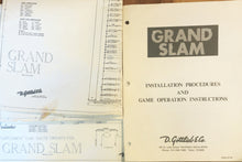 Load image into Gallery viewer, Grand Slam Pinball Complete Manual