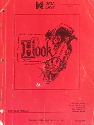 Hook Pinball Book