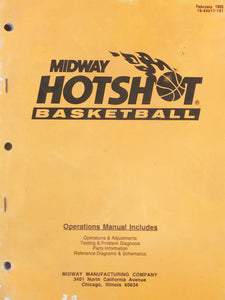 Hotshot Basketball Pinball Book