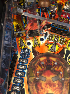 AC/DC Back in Black Pinball Machine Limited Edition
