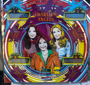 Charlies Angels Pinball Backglass