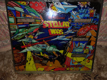 Load image into Gallery viewer, Stellar Wars Pinball Backglass