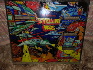 Stellar Wars Pinball Backglass