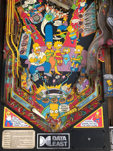 The Simpsons Project Pinball Machine
