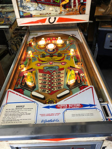 Bronco Pinball Machine