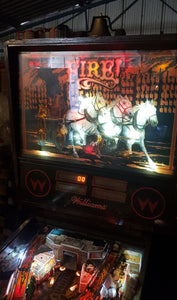 Williams Fire Pinball Machine