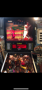 Big Hurt Pinball Machine
