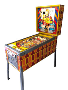 Jacks To Open Pinball Machine