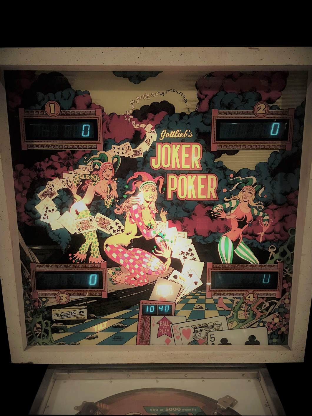Joker Poker Pinball Machine