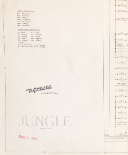 Jungle Pinball Schematic Only
