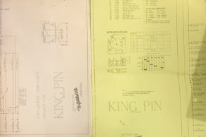 King Pin Pinball Schematics + Manual