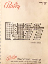 Load image into Gallery viewer, Kiss Complete Pinball Schematic Book